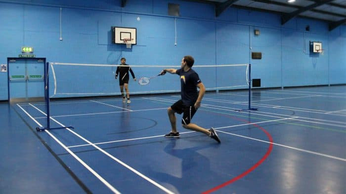 physical education rules of badminton
